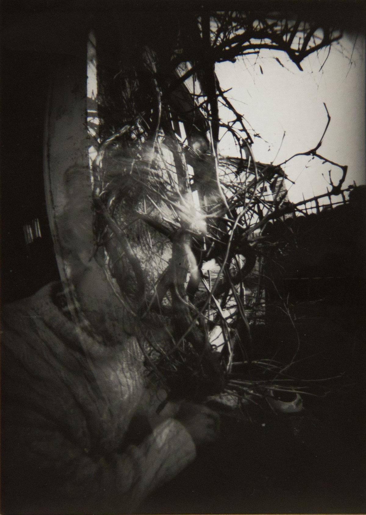 Philippe Briard - Autoportrait, 2007, stenopé, 18 x 12,5 cm