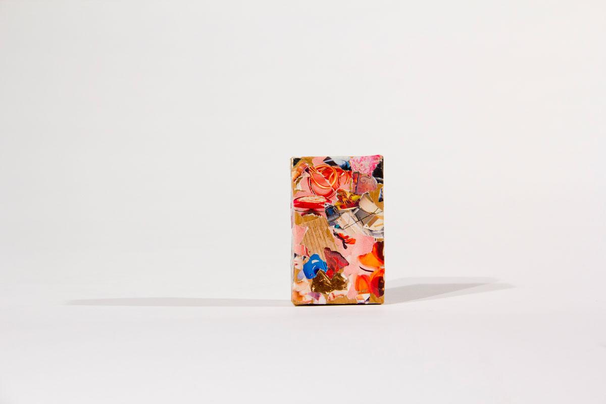 Philippe Briard - Collage sur paquet de cigarett, 2011
