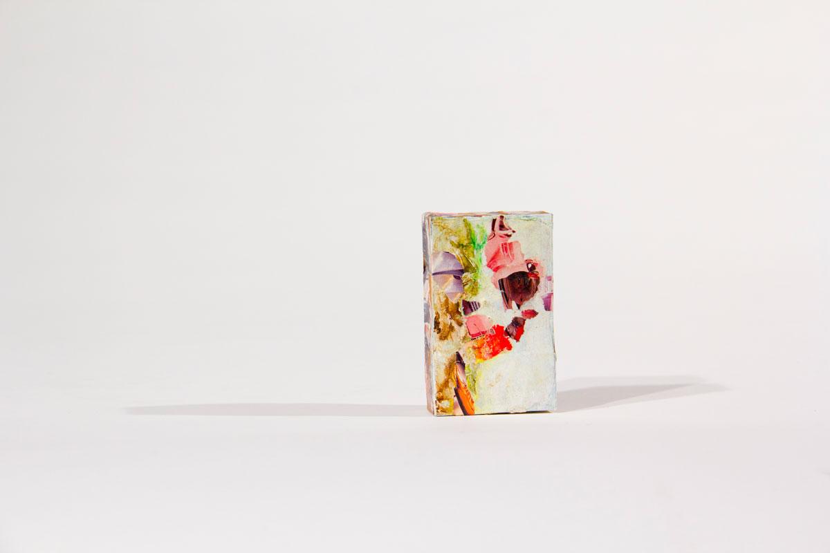 Philippe Briard - Collage sur paquet de cigarette, 2011